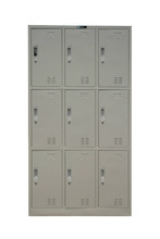 KD colorful Steel Metal shoes cabinet