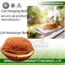 QQdesign wholesale pet bed furniture & wooden dog bed & pet furniture