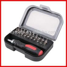 21pc Precision Cr-V Screwdriver Bit Tool Set