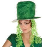 St. Patrick's Day 100th lowest price wig football fan decorating hair pins