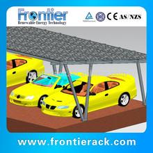 Aluminum Solar Canopy for Car Parking