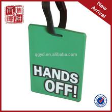 manufacturer promotional custom airline paper baggage tag