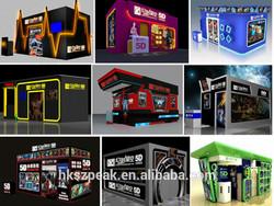 High quality 5d box cinema gun 7d 9d theatre