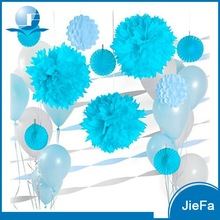 Balloon/Paper Fan/Pom Pom Ball For Decorate Room Birthday Party