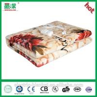 Flannel waterproof electric blanket