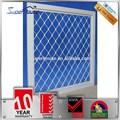 ans de garantie 10 fenêtre en aluminium grill fenêtre en aluminium de sécurité décoratifs