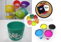 2015 Hot selling color pigment,silicone color paste, food grade color pigment