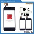 hotsale 2015 teléfono celular de piezas de reparación de la pantalla táctil para huawei y320