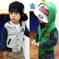 أطفال جملة الأزياء wt-0193 الطفل الملابس الشتوية الاطفال ملابس الأولاد الكورية معطف جديد للأطفال