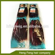 yaki 100% human hair weft extensions