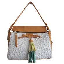 Trendy Lady Satchel Style PU Leather Shoulder Handbag Toto 2015