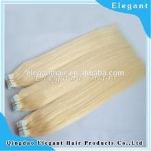 Qingdao Elegant Blue Tape hair noble gold weaving hair