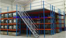 epoxy powder painting industry & factory warehouse mezzanine racking FOB Shenzhen