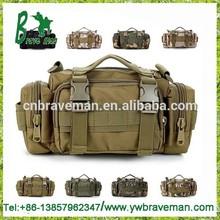 Factory price STOCK mix camo colors waist camera 3P military tactical bag