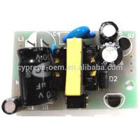 AC/DC Open Frame Switching Mode Power Supply AC 100V-265V 50/60HZ to output DC 12V 500mA / dc5v 150mA LED driver