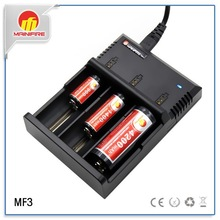 Mainifire MF3 3 slot battery charger charge 18650/18350/10440/26650/16340/AAA/ AA/C/D/SC battery