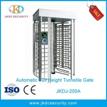 Discount Security 120 degree one-way full height turnstile entrance gate design JKDJ-200