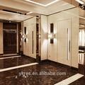 Roxo diamante painel acrílico, interior decoração para o bar de vinhos, parede d...