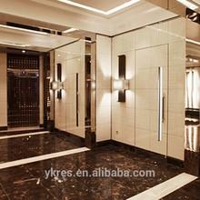 Purple diamond acrylic panel, interior decoration for wine bar, wall d...