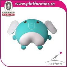 cute plush baby elephant cushion for baby