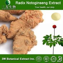 Radix Notoginseng Extract ,Radix Notoginseng Extract powder ,Radix Notoginseng Notoginsenosides 5%~98%