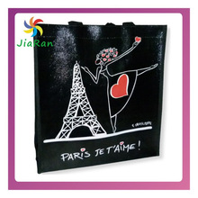 Hand Carry Eco-friendly Popular Simple Shopping Print Outdoor Customized Small Cheap shopping Bag For Girls