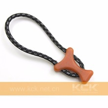 OEM Silicone Decorative Zipper Pull For Clothes, Bags With Customized Embossed Logo