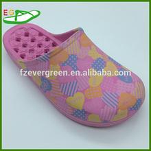 2015 Slippers Lady Indoor bathroom Pink Printed manufacturer EGA0226-02
