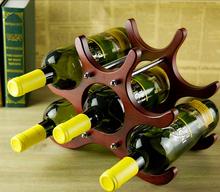 Wholesale home furniture 6 wooden wine racks