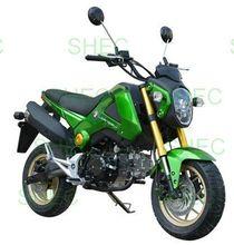 Motorcycle on road atv