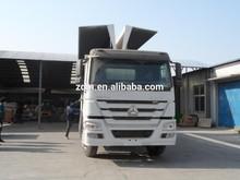 SINOTRUK 10 wheeler cargo truck with wing van