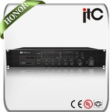 ITC T-240MX Series 240W 350W 480W 650W 5 Zone Mixer Amplifier with USB