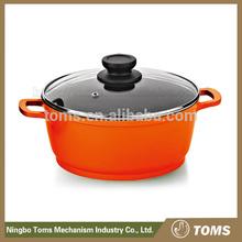 New Design easy for clean Plastic Casseroles Hot Pot