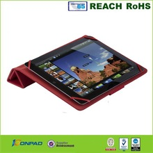 Magnetic Cover For iPad Leather Case