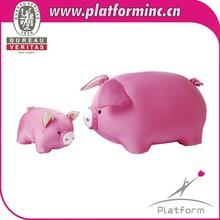 simulation animal plush toys/pig shape cushion
