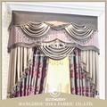 el sofá y la cortina del telar jacquar del chenille suave tapicería de textiles