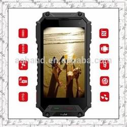 "Rugtel X10 IP68 4G LTE FDD waterproof android phone 4.5"" Android 4.4 1g+16g 5000mAh battery 5.0+8.0mega pixels"