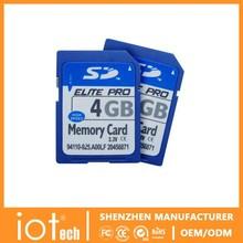 4GB Samsung Meterial Shenzhen SD Card