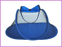 2015 blue color mosquito tent/folding mosquito net/pop up tent