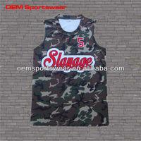 cheap basketball uniform design 2015 camo basketball jersey