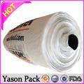 Yason biodegradável descartável embalagem clamshell não- saco tecido colchas laminado impressão geléia filme tampa