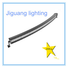 50 inch 288W JG-BC288X 4x4 C ree Led Car Light, Curved 50'' led light bar Off road,auto led light arch bent