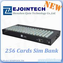 2015 128 SIMPOOL/SIM Bank gsm sim box voip gateway Original /unlocked linksys pap2t with 2 FXS port High quality