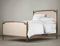 ヨーロッパの田舎スタイル固体木製二重はキングサイズのベッド