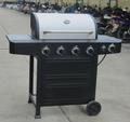 Venda quente! Gás grande jardim 4 queimador churrasco grade do gás ( PG-40421S0L )