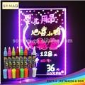2015 usine prix hot vente effaçable marqueur de bingo
