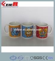mug cup/ kids name mugs promotional