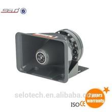 Loud Waterproof DC12v Amplifier Speaker Safety Car Accessories