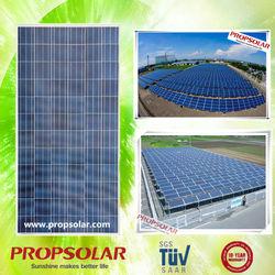 Propsolar TUV CE ISO certificated solar panel for farm use