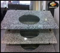 Spray white granite stone vanity top